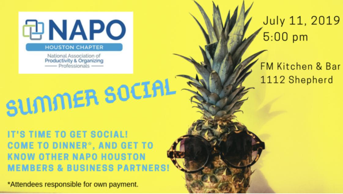 Summer Social | NAPO