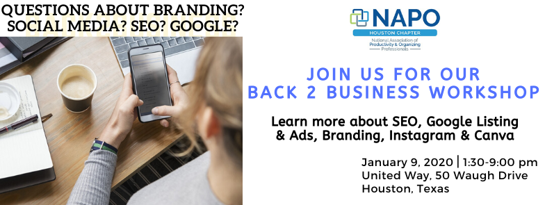 January – Back 2 Business Workshop