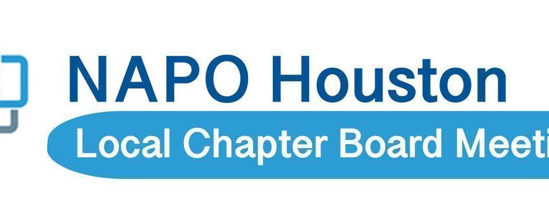 NAPO Board Meeting