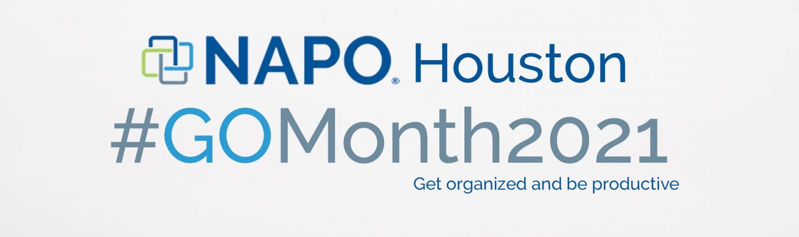 NAPO Go Month 2021 | NAPO Houston