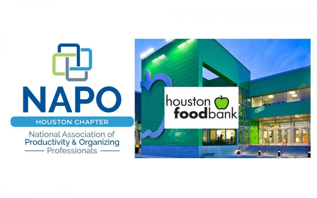 August 2021 Chapter Meeting – Volunteering – Houston Food Bank