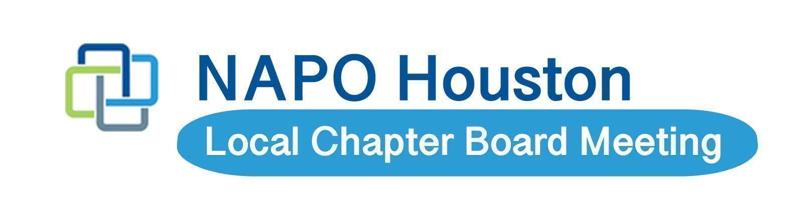 Board Meeting   NAPO Houston